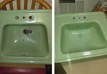Sink Chip And Hole Repair Orlando Florida